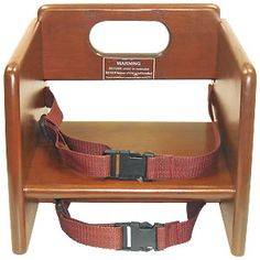 Wood Booster Seat $24.95