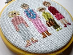 Golden Girls X-Stitch...quite basically the best thing I've ever seen :)