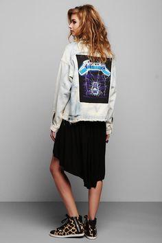 Vintage '90s Metallica Levi's Denim Jacket #urbanoutfitters #vintage