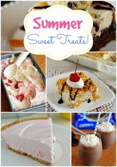 Summer Sweet Treats Recipe Round-Up {tons of no-bake summer recipes!}