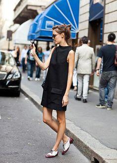 little dresses, shoe