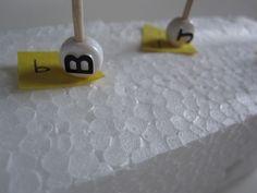 Letter Match Bead game - fantastic fine motor too! letter recognition, letter fine, motor activ, alphabet activities, fine motor, letters, art activities, letter identification, kid
