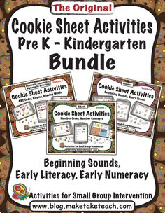 Volumes 1, 2 and 4 Bundled!  Great for centers and all activities can be used on a cookie sheet.
