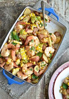 cajun shrimp potato salad