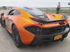 McLaren P1 - love the colour