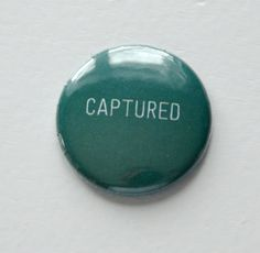 Captured Emerald  Flair Button by Two Peas @2peasinabucket