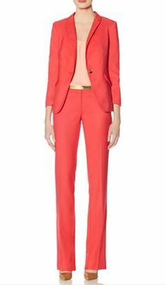 Create this look with our Soft One Button Jacket and Drew Soft Flare Pants from THELIMITED.com  Other colors and style available.  #TheLimited #LTDWellSuited