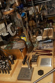work bench by sarawestermark, via Flickr