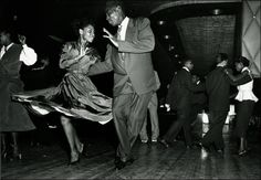 Dancing at the Savoy Ballroom 1940's.