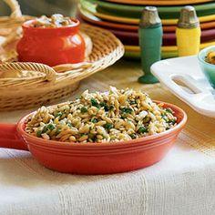 Pasta Salads Under 300 Calories  | Orzo Salad | MyRecipes.com