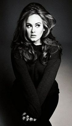 adele- love her accent an her attitude!