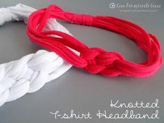 Knotted T-Shirt Headband