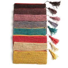 Mar Y Sol Crochet Clutch