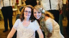 Watch mom with ALS share beautiful wedding dance with her daughter