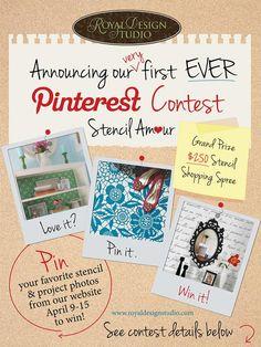 #CONTEST - Royal Design Studio Pinterest Contest! via fauxology