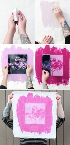 Awesome Inkodye tutorial by Rachel at the Crafted Life!