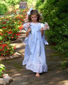 A Little Loveliness: Stroll through the garden in an heirloom dress.