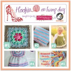 Hookin On Hump Day #79 - Link Party for the Fiber Arts