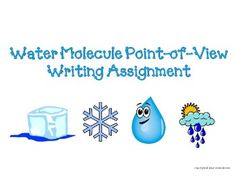 Changing states of matter writing assignment  : )