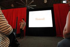 Ben starts the presentation // by Pinterest HQ, via Flickr