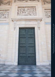 Pantheon Entrance Door by =kuschelirmel-stock    That is a nice door