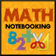 math notebooking pages