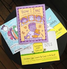 What's Your Grief?   Grief Activity Books for Kids 3-9