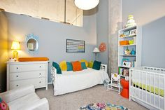 Cute loft bedroom