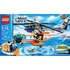 LEGO City - Helicopter & Raft