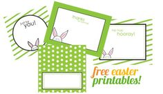 free easter printables from Pizzazzerie
