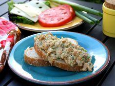 Chickpea Salad Sandwiches (use vegan mayo)