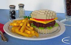 #LEGO Diner Fare