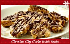 Chocolate Chip Cookie Brittle Recipe