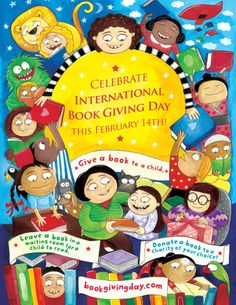 3 Simple Ways to Celebrate International Book Giving Day - The Jenny Evolution