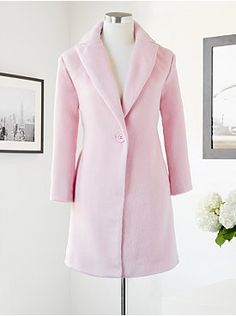 Eva Mendes Collection - Milano One-Button Coat