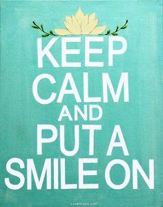 Keep calm and put on a smile. #KeepCalm #Jamaica #Travel