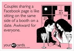 Is the coupled-up Facebook page the new joint bank account? Read it on iVillage AU