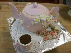 tea pot cake   Teapot Cakes