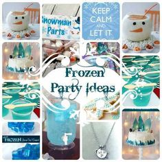 Frozen Disney Party Ideas and decorations