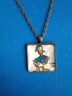 Donald Duck Necklace