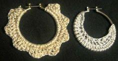 crochet earrings patterns free | Free Crochet Pattern - Sun & Moon Earrings from the Jewelry Free ...