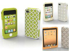 2-in-1 Tech Candy iPhone 4/4S and iPad cases