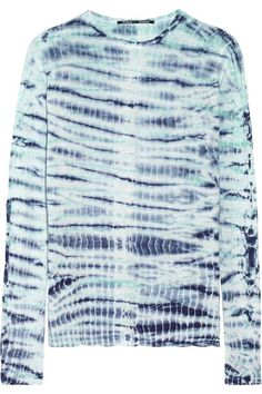Shop now: Proenza Schouler Tie-Dye Top