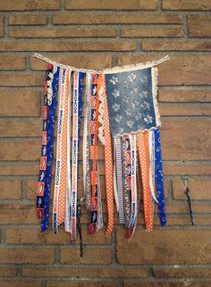 ON SALE - Denver Bronco Rustic Flag, Denver Bronco Flag, Peyton Manning, Football, Broncos, Denver Bronco House Decor, Bronco Nation on Etsy, $28.00