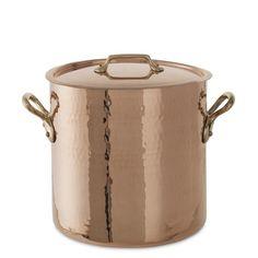"""Mauviel Copper Stockpot, 11"""" $850"""