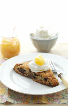 Blueberry Scones and Lemon Curd via DeliciouslyOrganic.net #paleo #grainfree