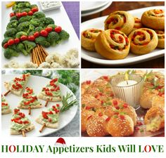 Kids Holiday Appetizers Ideas!
