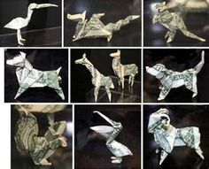 an origami zoo