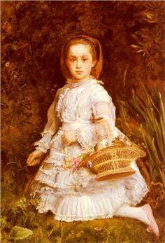 Portrait Of Gracia Lees - John Everett Millais