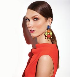 Statement earrings for spring have hit the scene—whether you opt for classic or edgy styles, have a go-to pair handy to throw on when your outfit needs a boost!  #rachelzoe #fashion #style #trends    Spring 2012: The Dramatic Earring